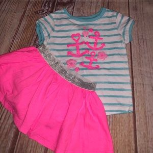 Jumping bean anchir  outfit 18m